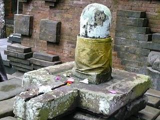 Le shiva lingam de Bali