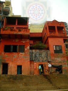 La demeure de Mark Dyczkowski à Narad Ghat, Bénares