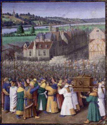 BNF, prise de Jericho, manuscrit de jean fouquet