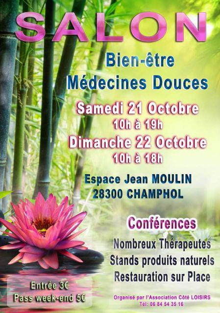 Salon bien tre et m decine douce champhol octobre - Salon medecine douce ...